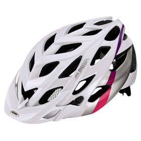 Alpina D-Alto Helmet white-silver-pink